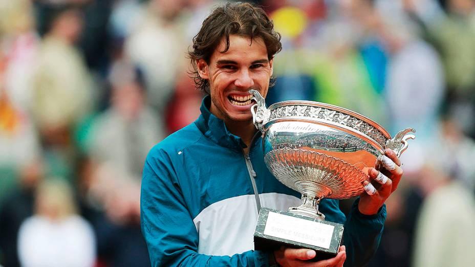 Rafael Nadal conquistou seu 12º título de Grand Slam, o oitavo em Roland Garros