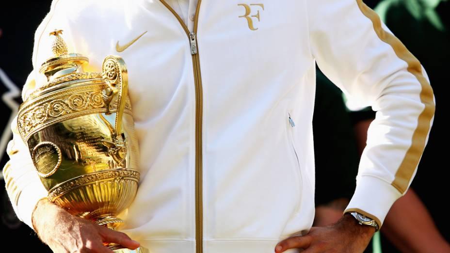 Roger Federer vence Andy Roddick e conquista o torneio de Wimbledon em 2009