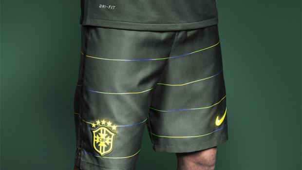 O terceiro uniforme da seleção brasileira