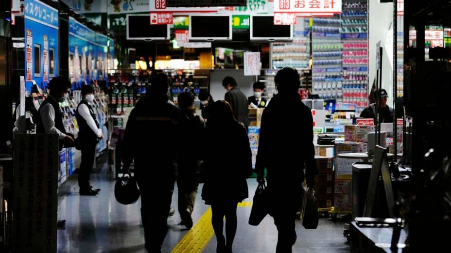 Loja de eletroeletrônicos em Tóquio, Japão