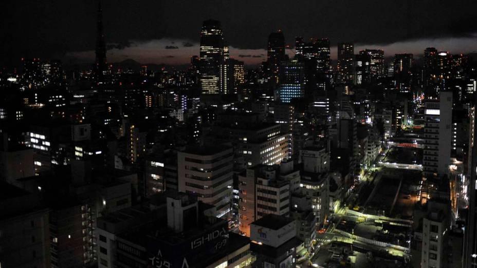 Racionamento de energia em Tóquio por causa do risco de apagão, Japão