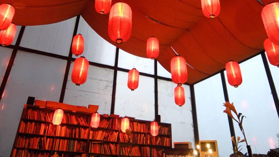 Livraria The Bookworm em Pequim, China