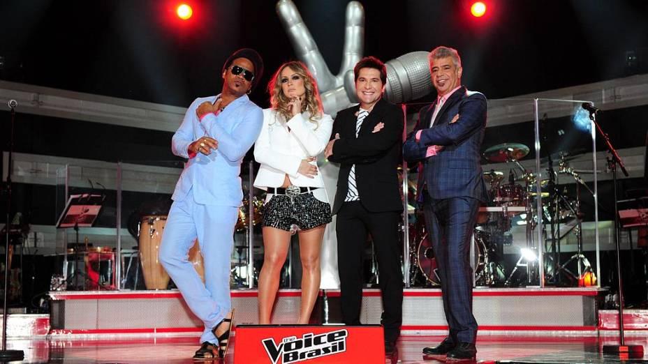 The Voice Brasil: Carlinhos Brown, Cláudia Leitte, Daniel e Lulu Santos são os técnicos