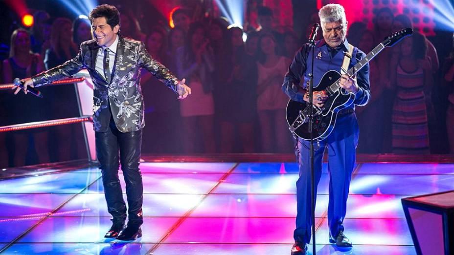 The Voice Brasil: Daniel e Lulu Santos cantam nas batalhas