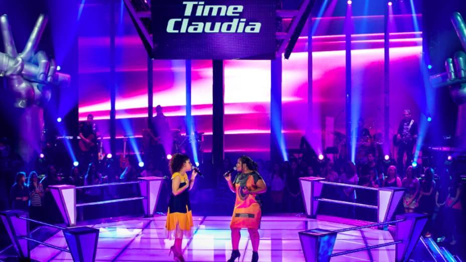 The Voice Brasil: Gabby Moura e Amanda Amado se enfrentaram nas batalhas pelo time de Claudia Leitte