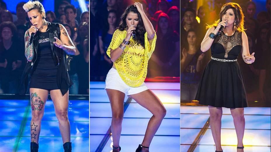The Voice Brasil: Luana Camarah leva a melhor no Tira-Teima, mas Rully Anne é salva por Claudia Leitte