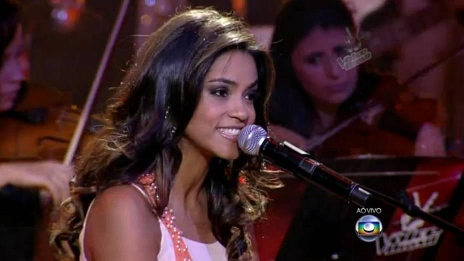 The Voice Brasil: Lucy Alves no show ao vivo