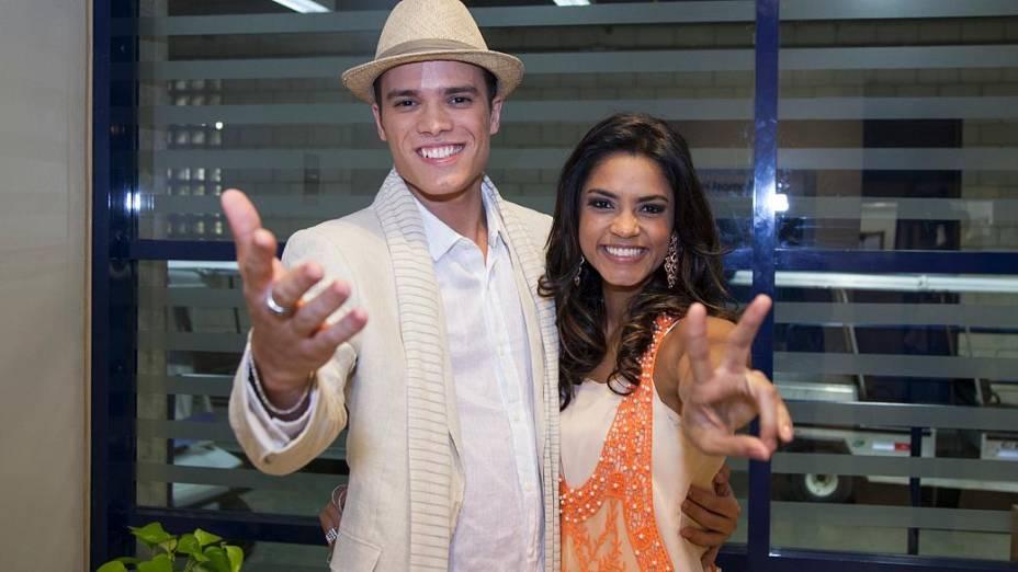 The Voice Brasil: Marcos Lessa e Lucy Alves são os semifinalistas do time de Carlinhos Brown