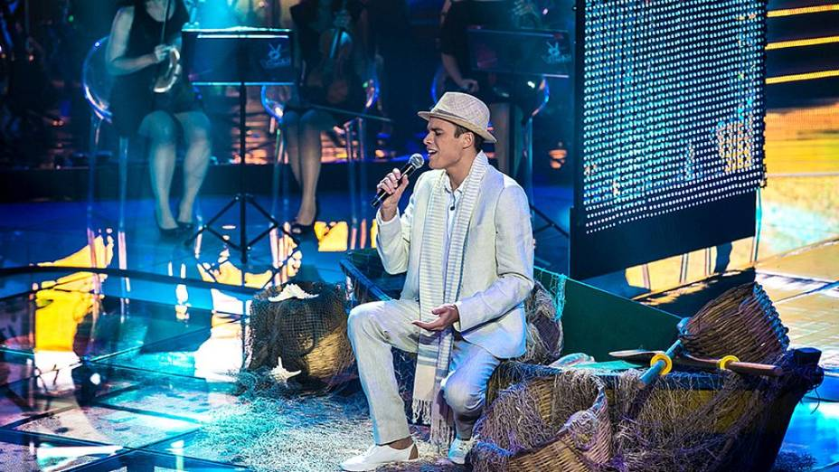 The Voice Brasil: Marcos Lessa no show ao vivo
