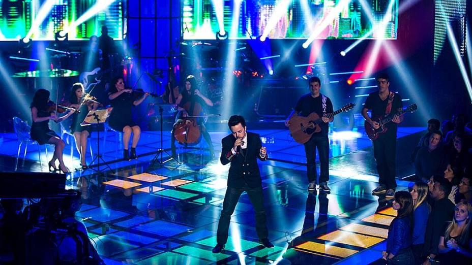 The Voice Brasil: Rubens Daniel no show ao vivo