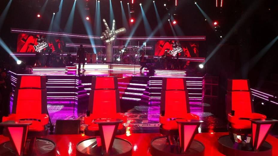 The Voice Brasil: técnicos ficarão sentados de costas para o palco