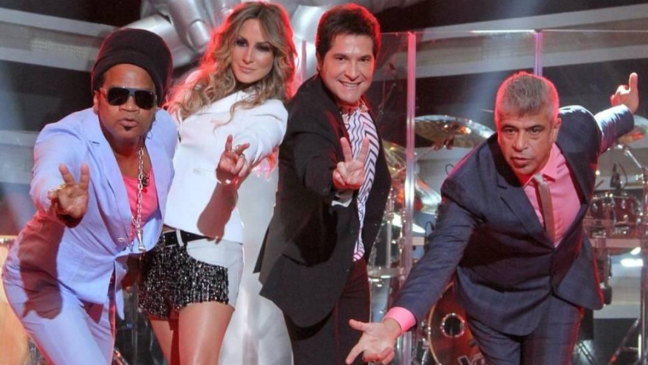 The Voice Brasil: Carlinhos Brown, Claudia Leitte, Daniel e Lulu Santos