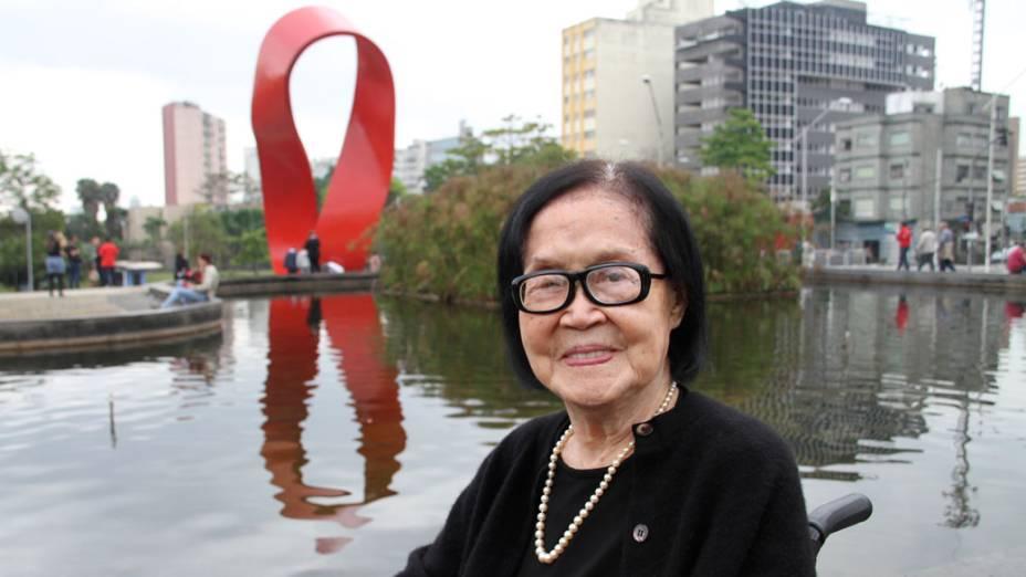 Tomie Ohtake, Monumento ao Trabalhador, 2013