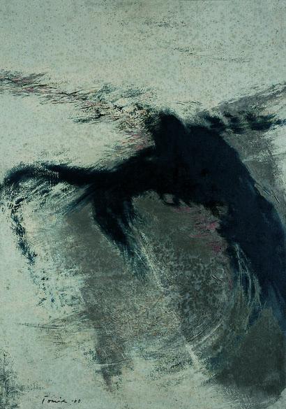 Tomie Ohtake, pintura cega, sem título, 1960