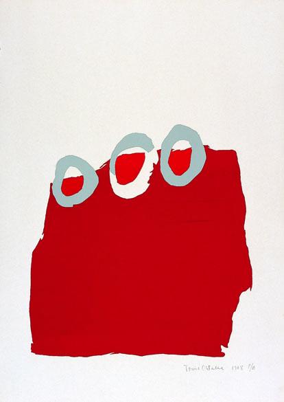 Tomie Ohtake, gravura sem título, 1968
