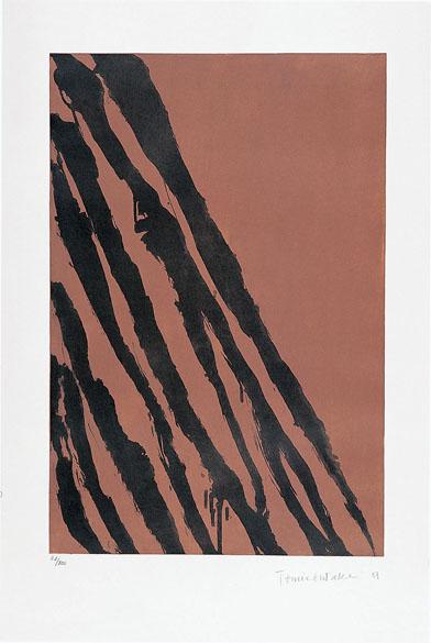 Tomie Ohtake, gravura sem título, 1987