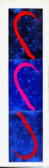 Tomie Ohtake, gravura sem título, 1996