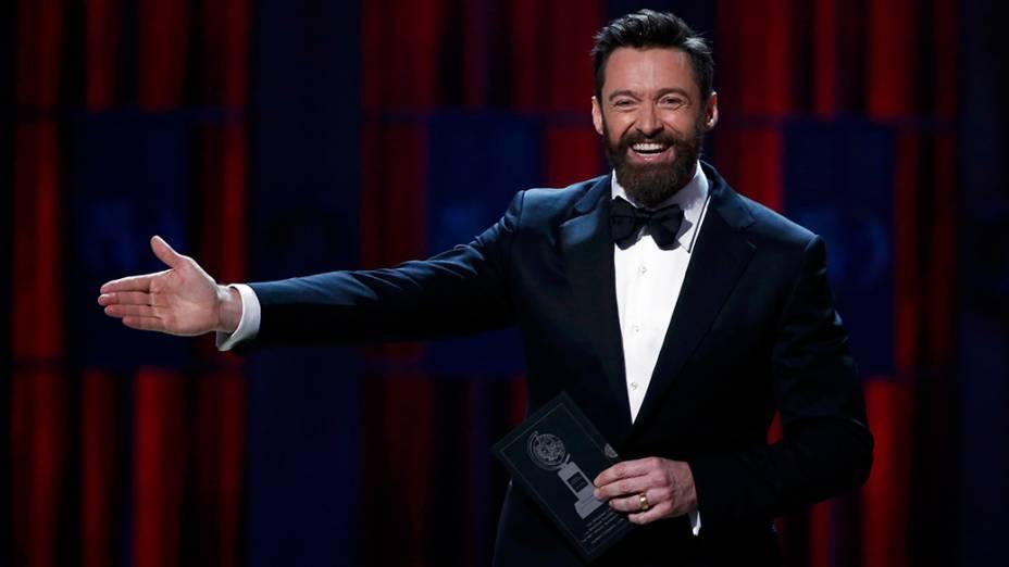 Hugh Jackman, apresentador da 68ª edição do Tony Awards