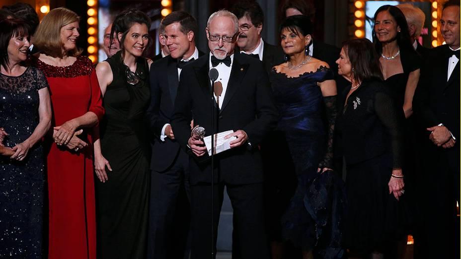 Dirigida por Robert Schenkkan, All the Way levou também o prêmio de melhor peça