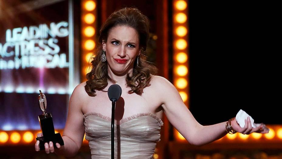 Jessie Mueller, melhor atriz de musical