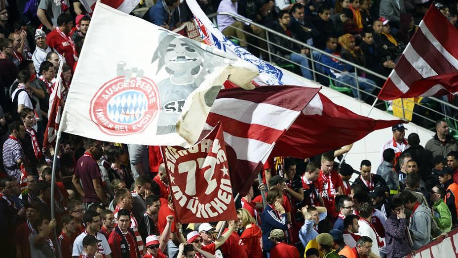 A festa dos torcedores do Bayern de Munique<br><br>