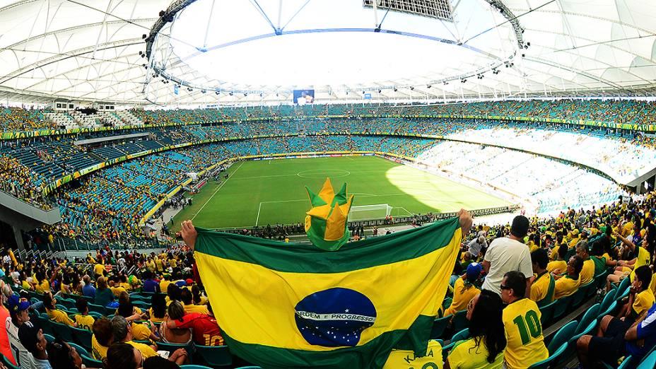 Torcedores podem pedir ingressos para 62 dos 64 jogos da Copa do Mundo