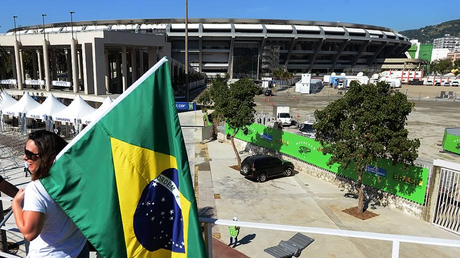 No Rio de Janeiro, acontece o primeiro amistoso para a Copa das Confederações
