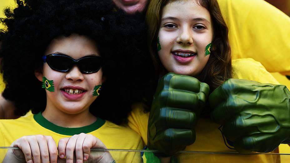 Torcedores no Mineirão, em Belo Horizonte