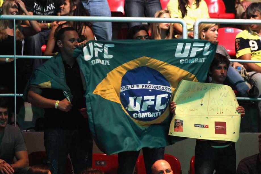 A torcida por José Aldo no UFC Rio 2012