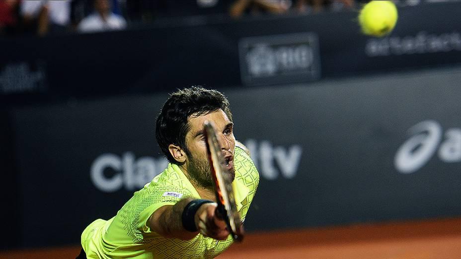 Pablo Andujar durante o Rio Open 2014