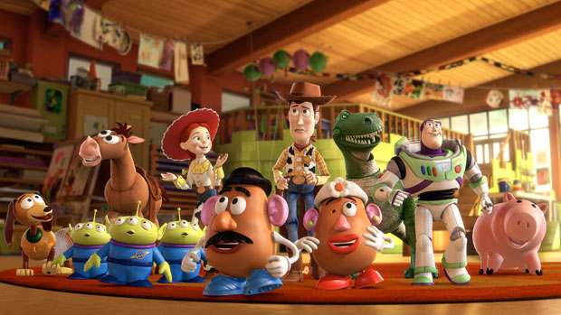 Toy Story 3, da Disney Pixar