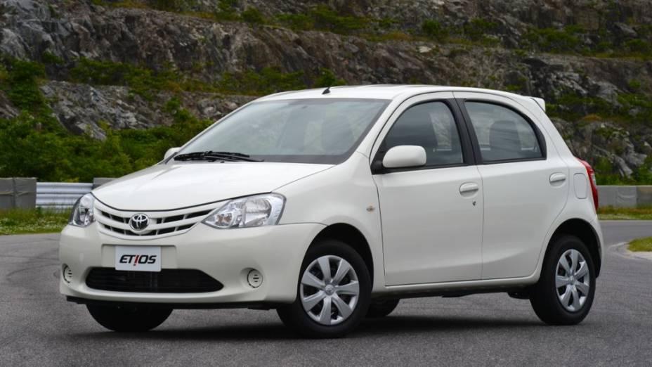 Etios, o novo compacto da Toyota no Brasil