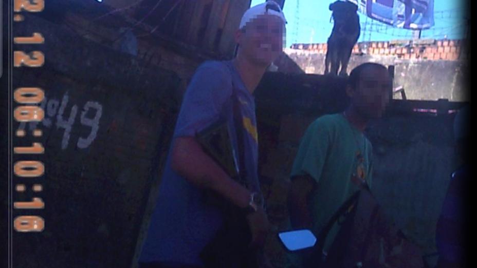 Movimentação dos traficantes no Morro do Dendê
