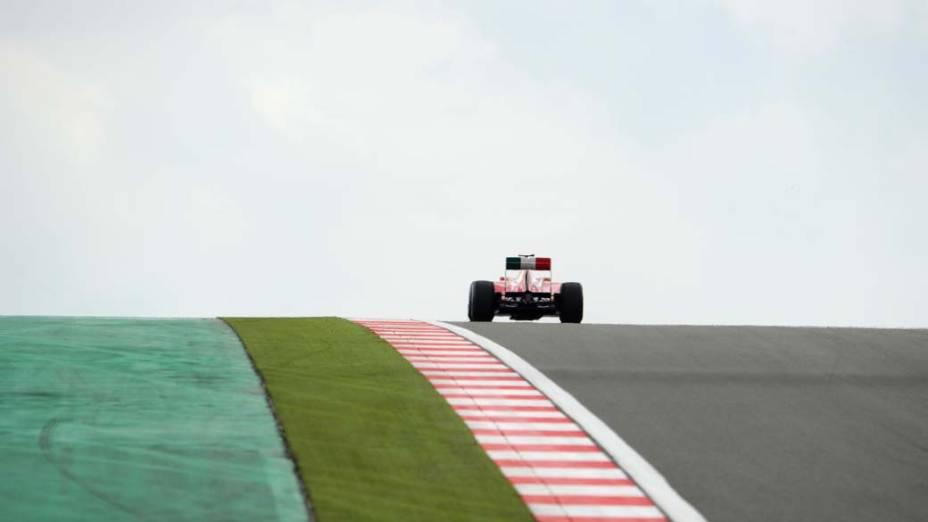 Em Istambul, treino do Grande Prêmio da Turquia de Fórmula 1