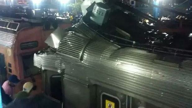 Choque de trens na Baixada Fluminense deixam ao menos 40 feridos