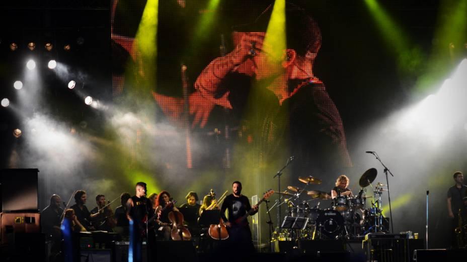 Tributo Viva Raul no segundo dia do Rock in Rio 2013