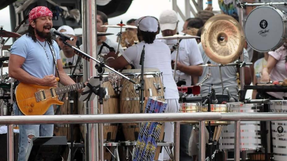 Trio do Chiclete com Banana em Salvador, em 18/02/2012