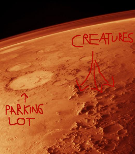 Courtney Love encontra vida em Marte