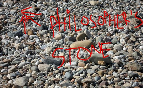 Courtney Love encontra a pedra filosofal