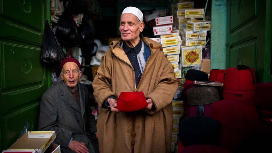 Loja no centro de Tunis