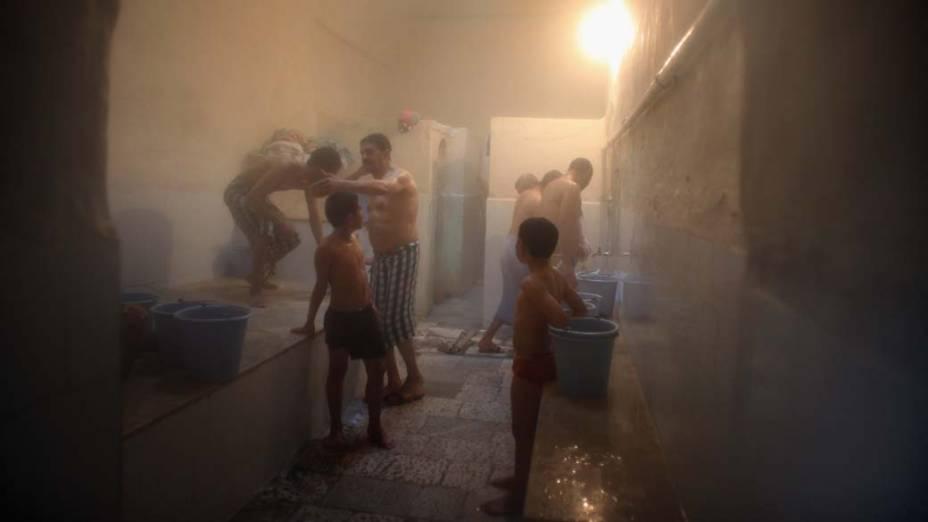 Banho a vapor em Tunis, Tunisia