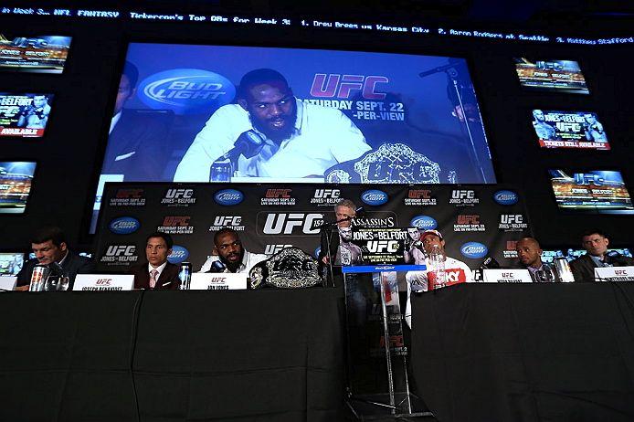 Entrevista coletiva do UFC 152, em Toronto