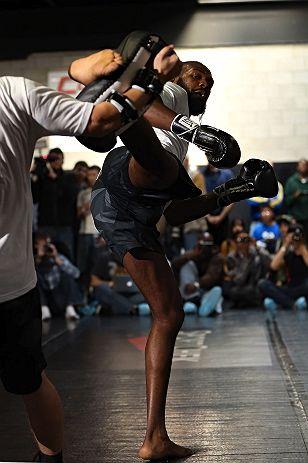 Treinos abertos para o UFC 152, em Toronto