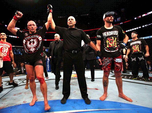 UFC 154: Georges St-Pierre contra Carlos Condit, em Montreal, no Canadá