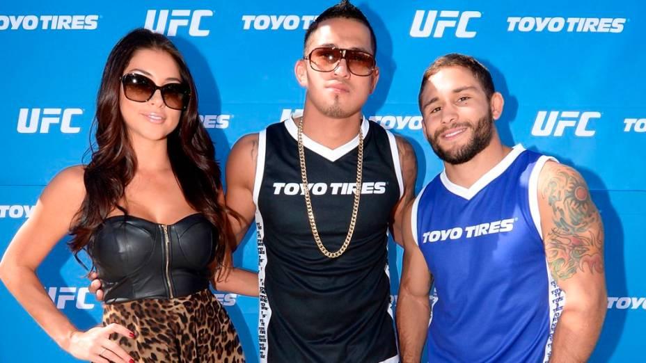 UFC 166: Arianny Celeste, Anthony Pettis e Chad Mendes
