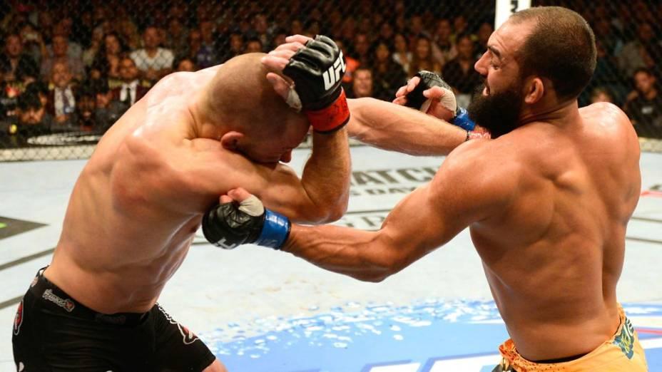 UFC 167: Georges St-Pierre x Johny Hendricks