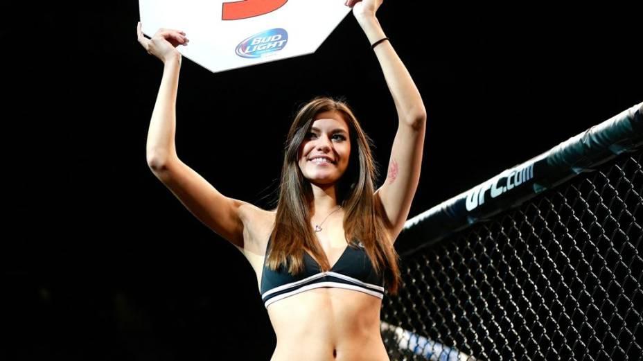 UFC 168: a ring girl Vanessa Hanson