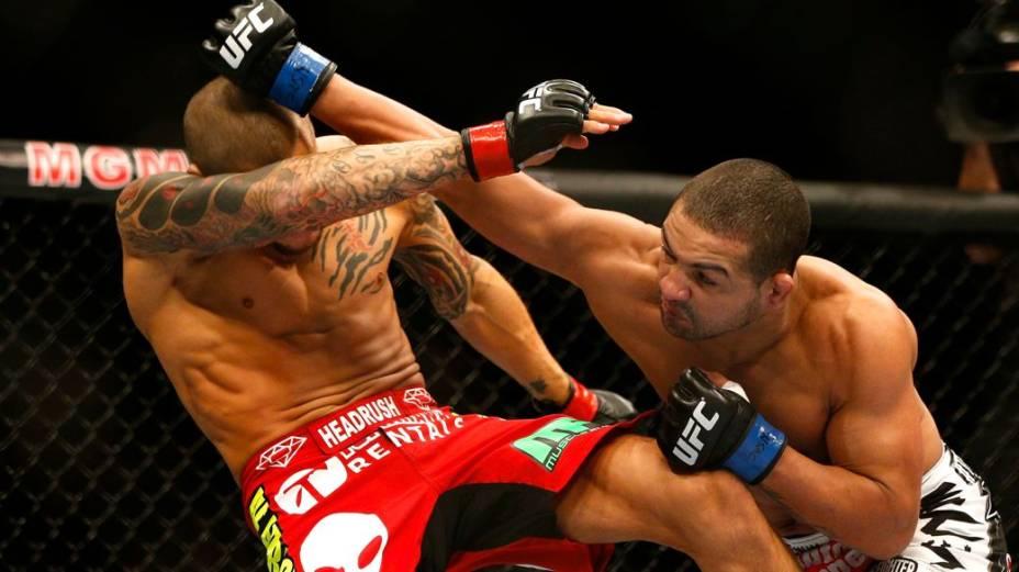 UFC 168: Dustin Poirier x Diego Brandao