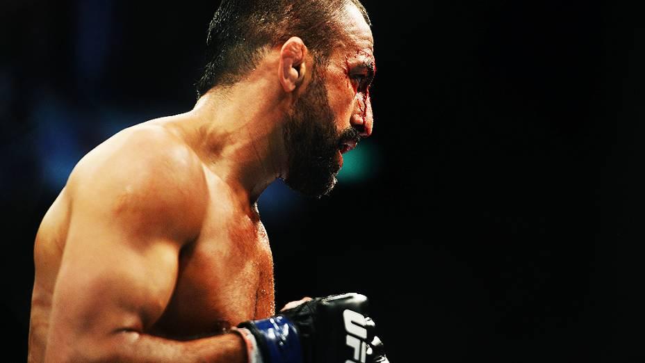 Reza Madadi no UFC Rio III, realizada na HSBC Arena, Barra da Tijuca