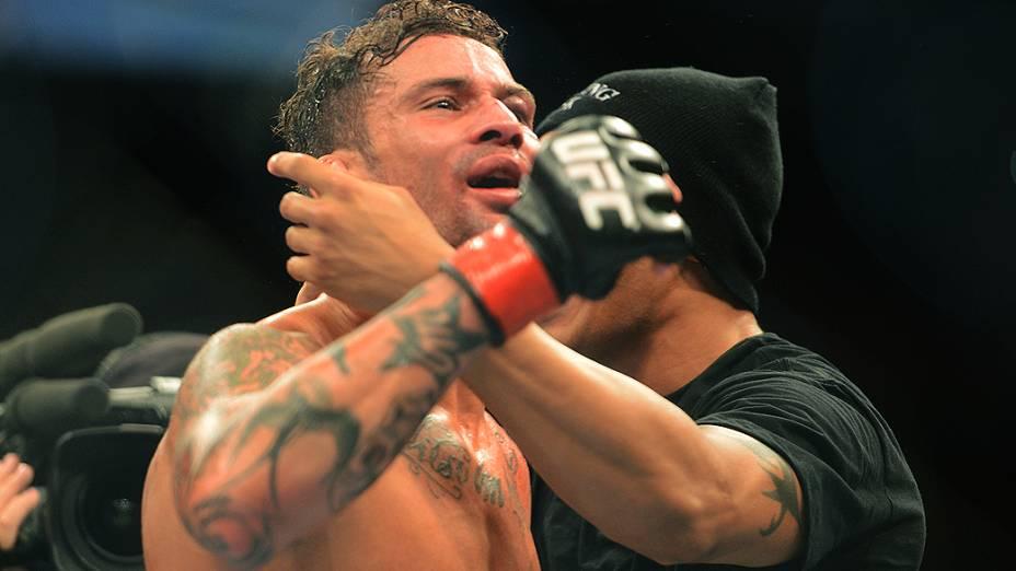 Cristiano Marcello vence Reza Madadi no UFC Rio III, realizada na HSBC Arena, Barra da Tijuca